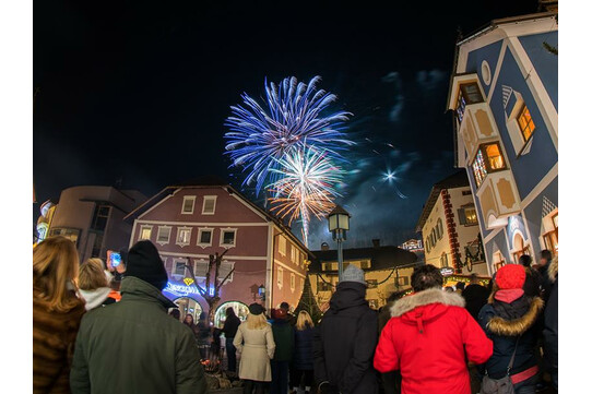 New Year\'s Party in Ortisei